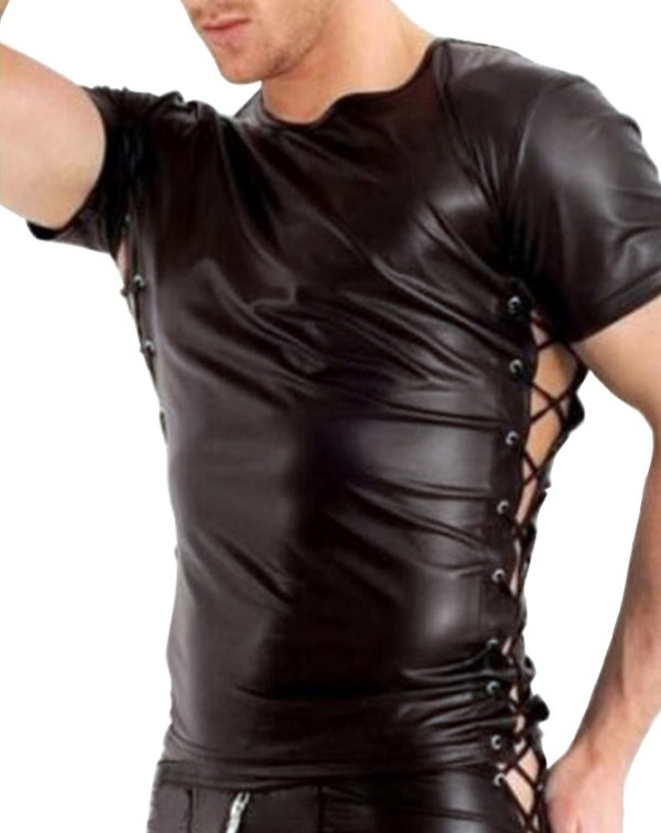 Tight Leather Shirt