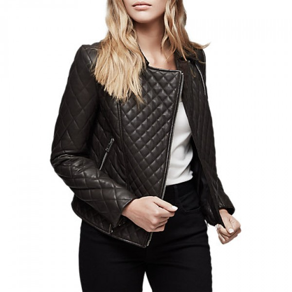 Women Skinny Leather Jacket