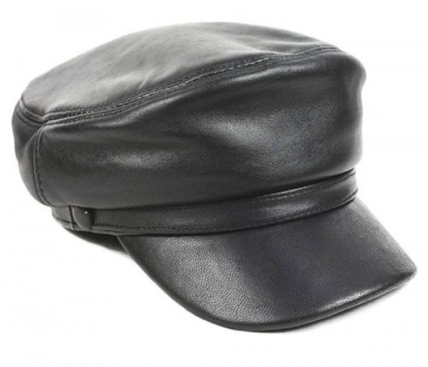 The Ultimate Complete Guide to Men s Leather Hats   Caps Styles ... 4536657efd2d