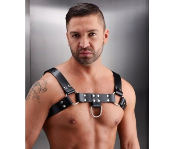 Leather Chest Harness Suspender For Men