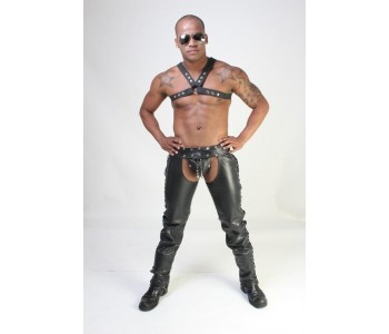 Sinner Revelation Leather Riding Chaps