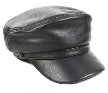Trendy Catch Mens Leather Cap