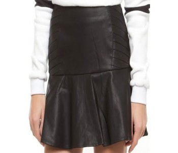 Vigor Leather Skirt