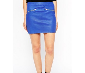 mini skirts leather