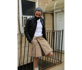 Bavarian Leather Kilt