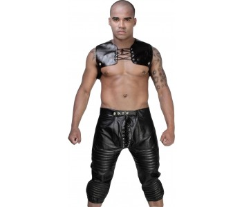 leather chap men