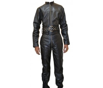 Leather Overalls Mens