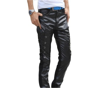 Male Leather Pants