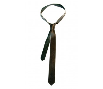 Personal Rules Wide Leather Tie
