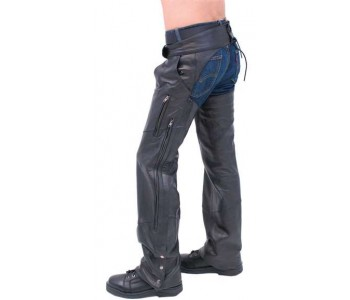 guy in leather chaps
