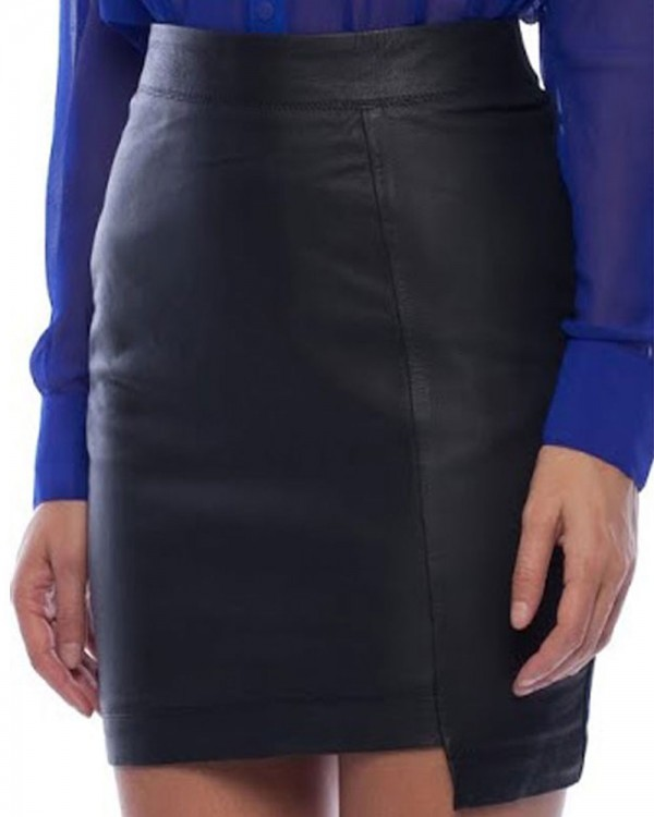 Women Leather Skirt