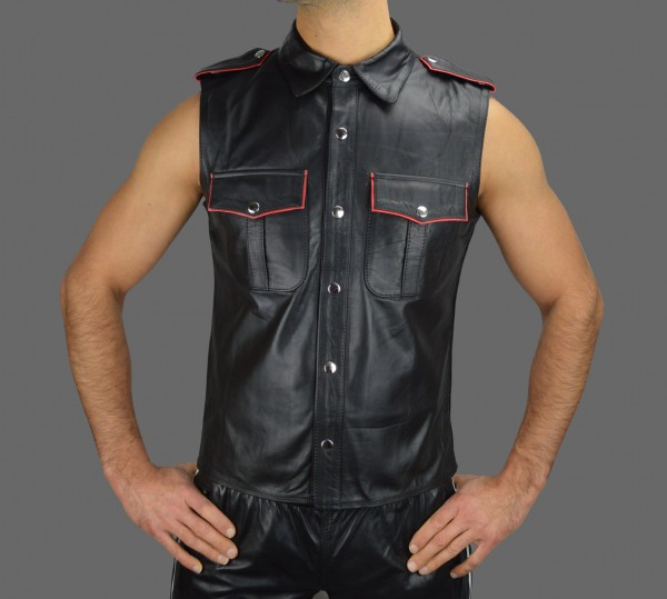 buy leather shirt