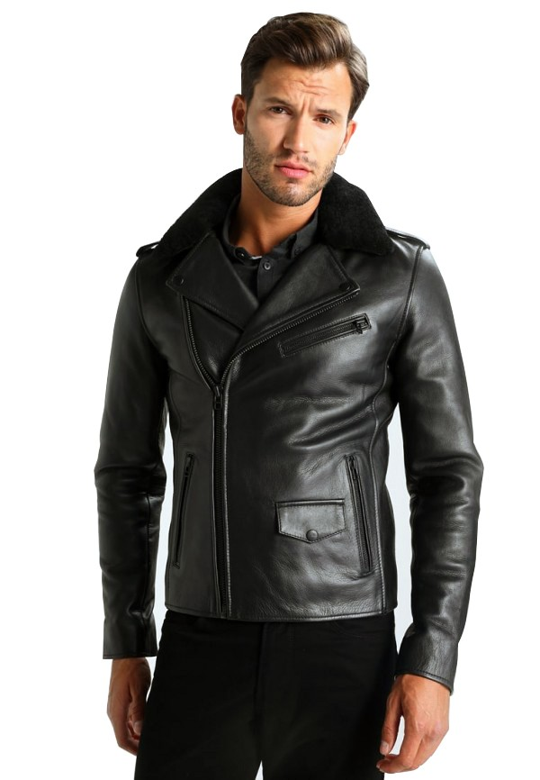 Men Excelled Leather Jacket