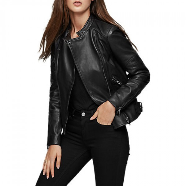 Ladies Leather Jacket Fashion