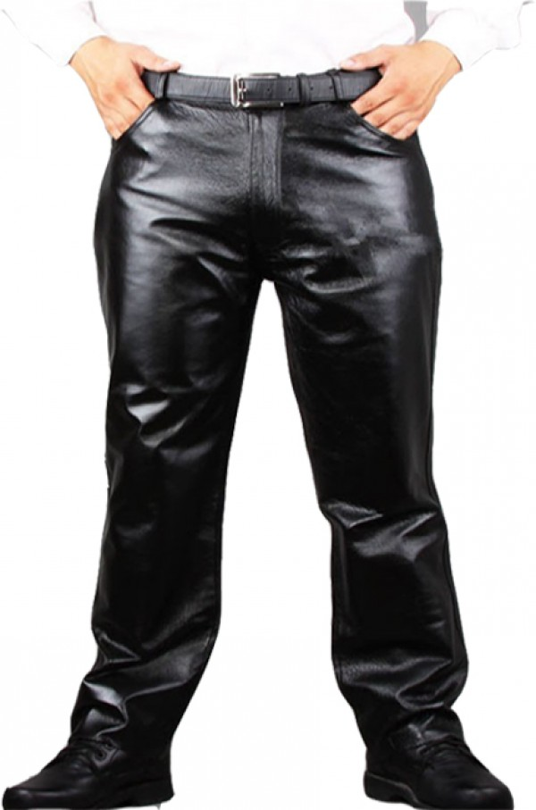 Leather Dress Pants