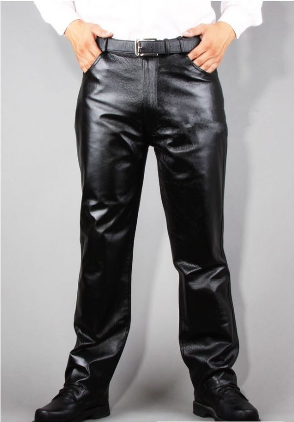 Leather Dress Pants For Men