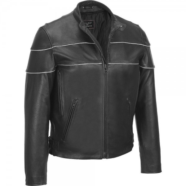 leather jacket men
