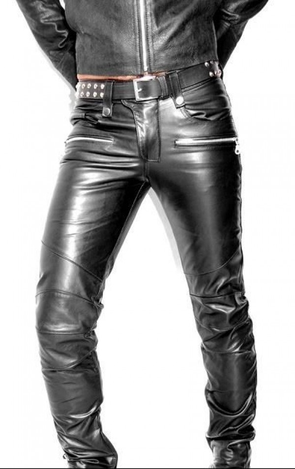 Leather Pants With Zippers
