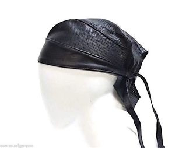 Leather Skull Cap Bandana