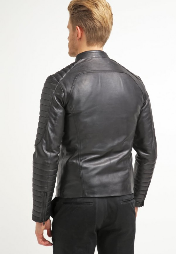 Mustang Leather Jacket Backside