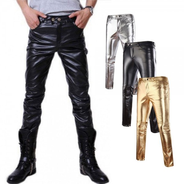 slendor leather pants