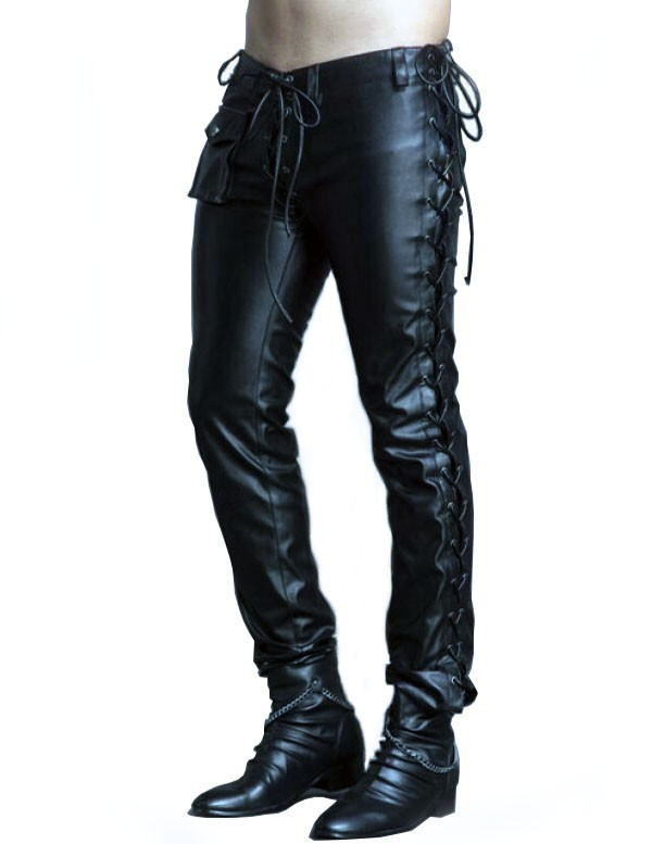 sale retailer lovely design latest design Chain Reaction Leather Pants