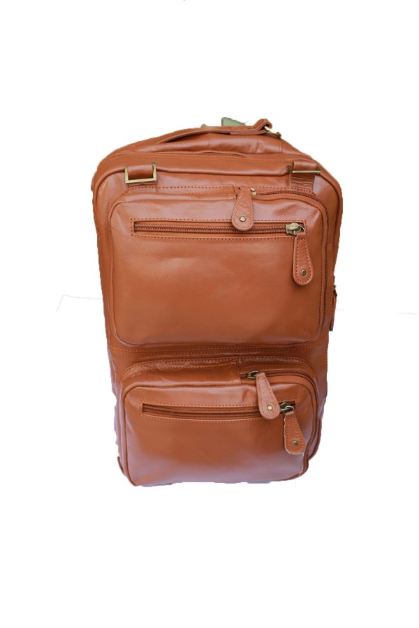 leather backpack Travel Bag Man Large Capacity
