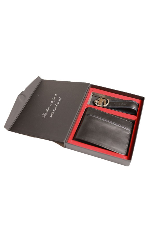 black Cow Leather Wallet