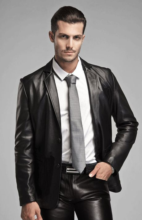 Leather Blazer For Men | Shop Mens Coat At Leather Baba