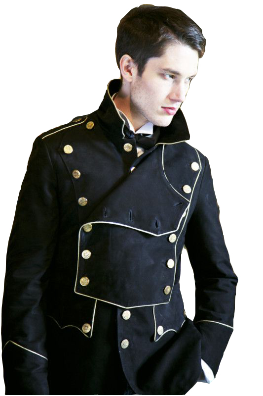 Military Leather Jacket  fc0d7c11b3a